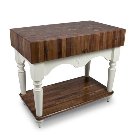 walnut butcher block table boos walnut calais end grain butcher block table