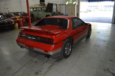 old car manuals online 1985 pontiac fiero security system 1985 pontiac fiero red great deal for sale pontiac fiero what a find such a great car