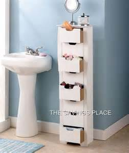 8 drawer wooden bathroom bedroom entryway slim space saving storage cabinet unit ebay