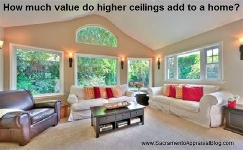 how much value do higher ceilings add to a home