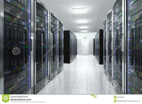 server room  datacenter stock illustration image