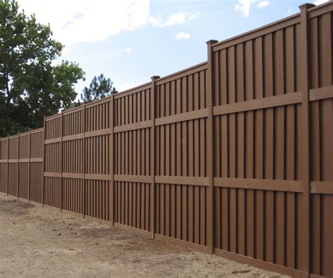 commercial  government projects trex fencing