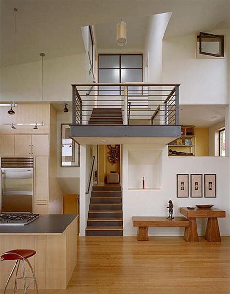 design inside of home two level contemporary home interior design