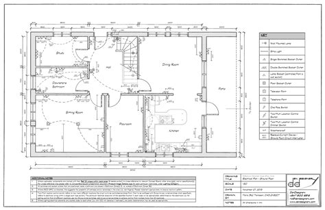 wiring floor plan showing layout your own floor plans