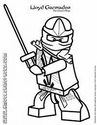 Lloyd Garmadon The Green Ninja Coloring Page  H &amp M Pages