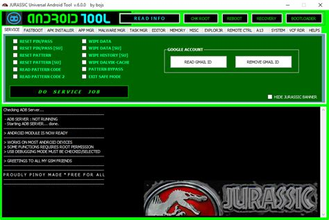 android universal hard reset tool download jurassic universal android tool v 6 0 0 download free