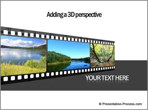 Filmstrip Powerpoint Template powerpoint timeline template using filmstrip