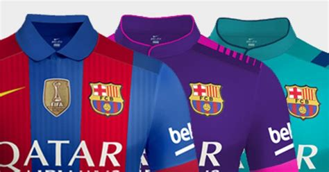 Tshirt Inter Milan Just Do It confirmed sport s leaked barcelona 16 17 kits were just a