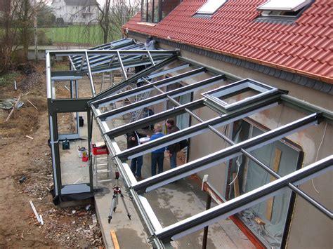 aluminium haus wintergarten aluminium mit gaube glalum