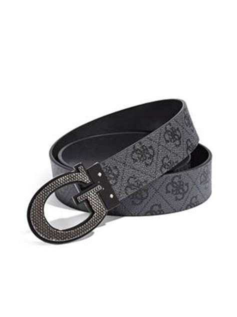 Guess Where This Belt Is From Go On Guess by Reversible G Logo Buckle Belt Guess