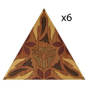 Deep Thought Wood Marquetry Kit Art