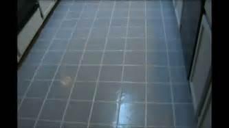 Painting Kitchen Or Bathroom Tile Floor Amp Grout Lines Painting Bathtub Black