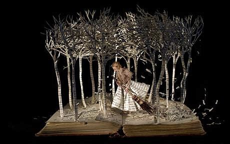 Cool Artist Su Blackwell by Amazing Artworks Created From Books Telegraph