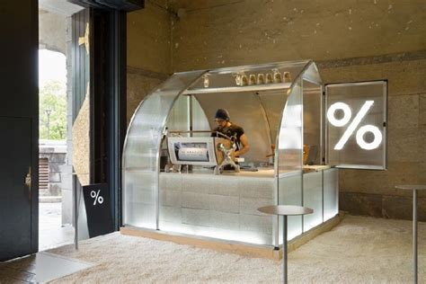 coffee booth design coffee kiosk by puddle kyoto japan 187 retail design blog