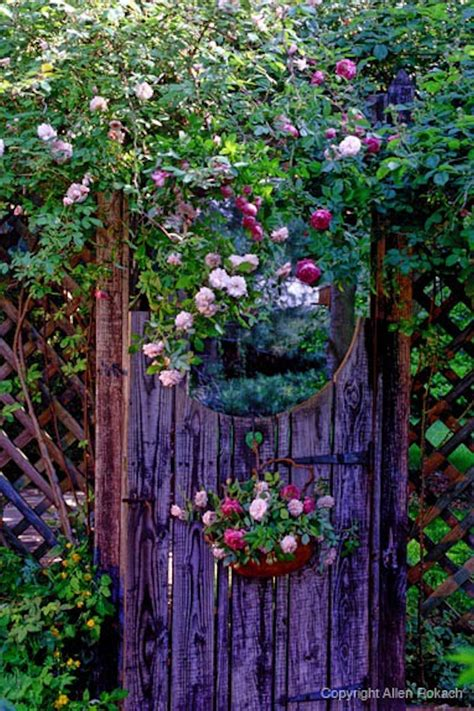 Garden Gate by Garden Gate W Flowers Green Thumbs Sometimes