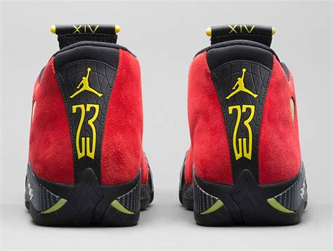 retro ferrari shoes ferrari air jordan 14 retro challenge red nike