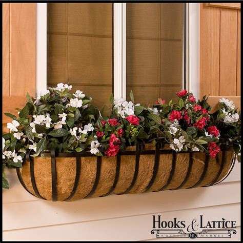 Hay Planter by Hay Rack Window Boxes