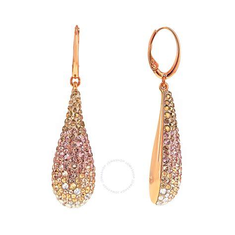 how to make swarovski jewelry swarovski abstract pierced earrings 5046998