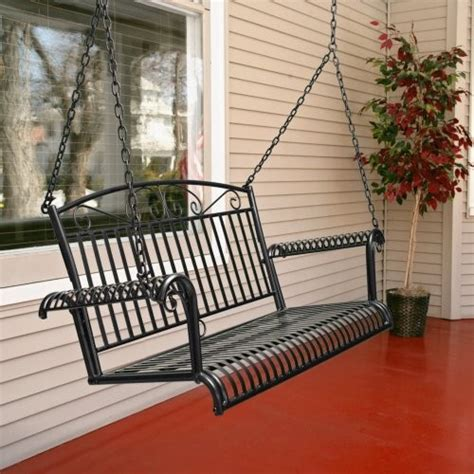 iron porch swing international caravan tropico 4 ft wrought iron porch