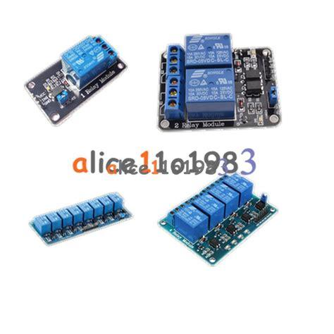Relay Module 5v 1 Channel 250vac30vdc 1a Optocoupler 5v 1 2 4 8 channel relay board module optocoupler led for arduino pic arm avrc ebay