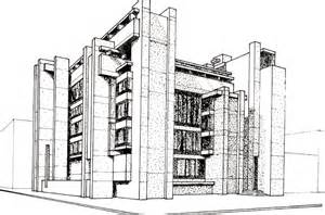 drawing building plans building drawing plan modern house