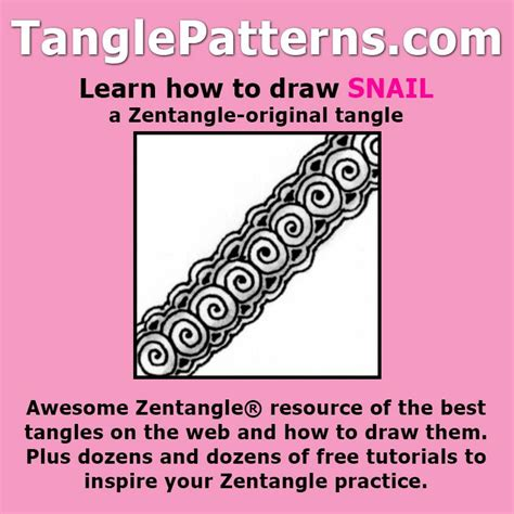 zentangle pattern kule step by step instructions to learn how to draw the