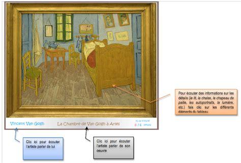 Tableau De Gogh La Chambre by Cestfranc Description D Un Lieu La Chambre Et La Nuit