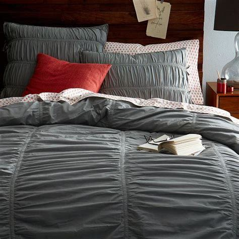 parachut bedding gray parachute duvet cover shams