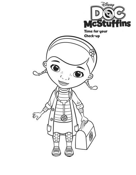 doc mcstuffin coloring pages doc mcstuffin coloring page 30001 bestofcoloring