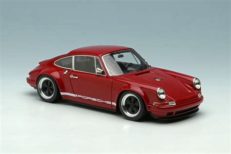 Deep Red Porsche Singer 911 By Make Up Co Ltd 1 43