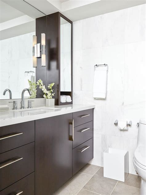 contemporary bathroom oil rubbed bronze bathroom fixtures hgtv