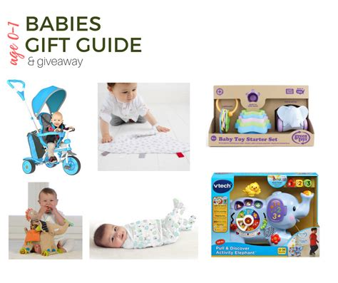 2017 top gifts for babies gift guide giveaway