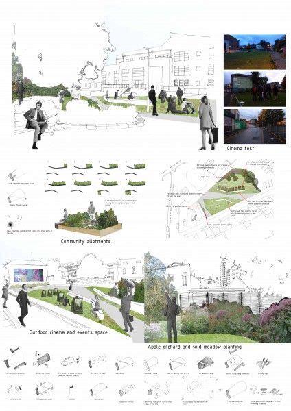 landscape layout ppt landscape design idea site analysis graphic presentation