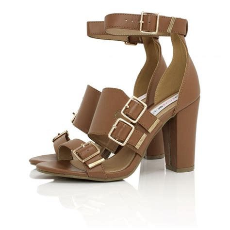 heeled sandal leather style heeled sandals buy leather style