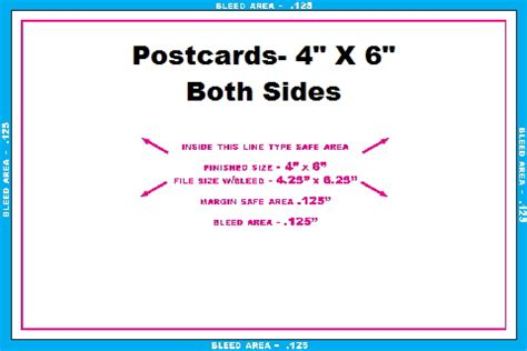 4 x 6 postcard template for card stock post card templates