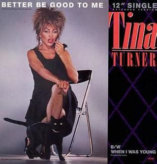 tina turner better be to me better be to me