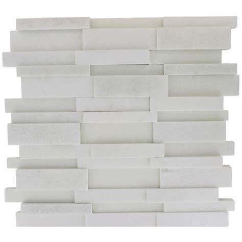 splashback tile dimension 3d brick white thassos marble 12