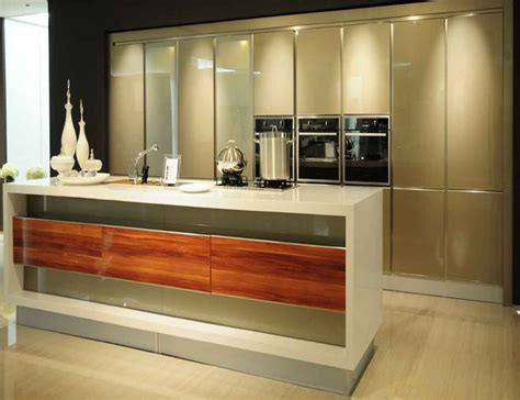 buy modern kitchen cabinets aliexpress com buy handle free modern kitchen cabinets
