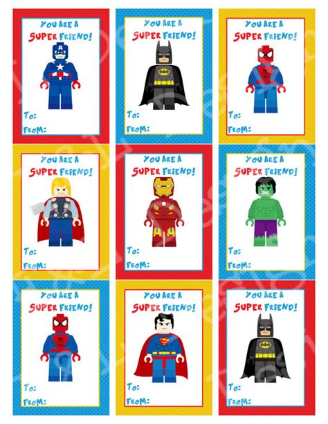 superheroes valentines day s day cards s day