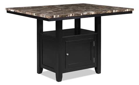 counter height kitchen tables with storage vale counter height dining table with storage the brick