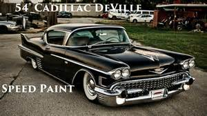 54 Cadillac Coupe 54 Cadillac Coupe Speed Paint