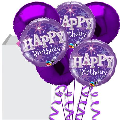 Purple helium balloon bouquet jpg 600 215 600 purple balloons pinterest purple balloons