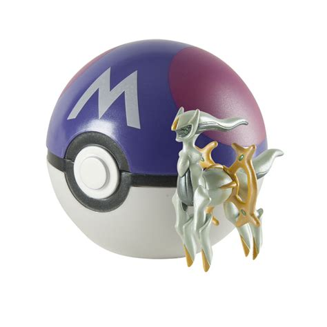 Figure Pokeball 1 20th anniversary arceus figure with master only at gamestop for collectibles