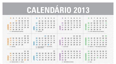 Calendario Imprimir Calend 193 2013 Para Imprimir Coisas Pra Ver