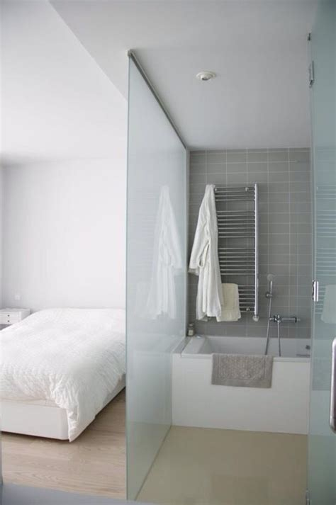 glass wall between bedroom and bathroom wall dividers what dreams are made of decozilla