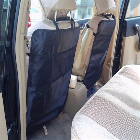 Seat Protector Organizer 2 In 1 Kick Mat Organizer T1310 environmental thicken pvc car back seat protector kick mat