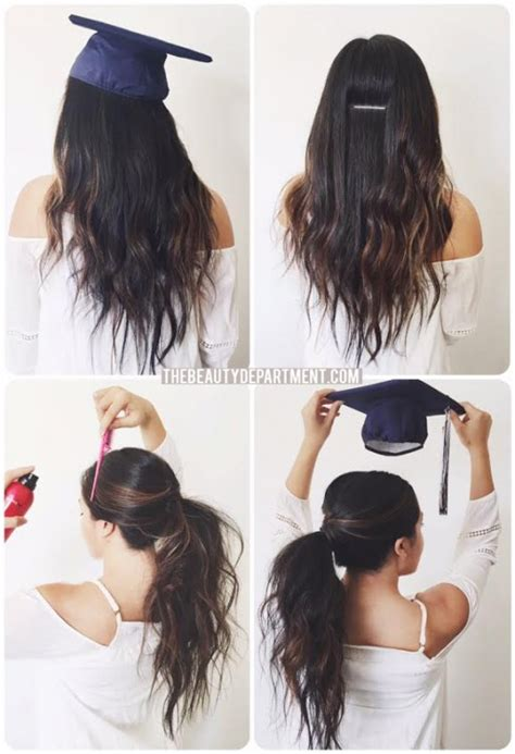 easy hairstyles for middle school graduation the beauty department graduation hair