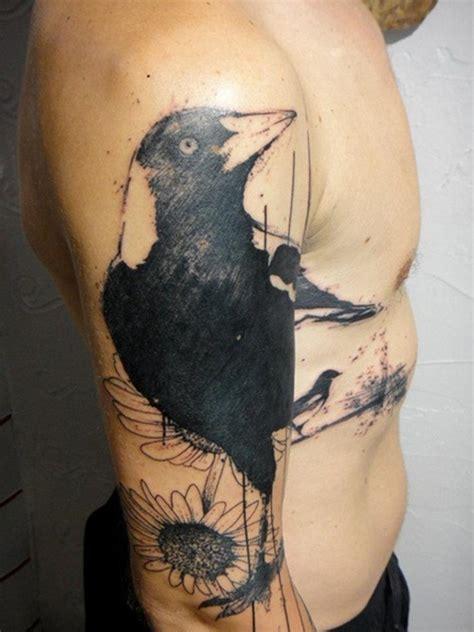 tattoo hd man crow tattoo drawings handsome hd men design idea