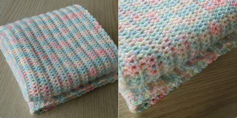 Diy Home Decor Craft Ideas by Easy Baby Blanket Free Pattern Stylesidea