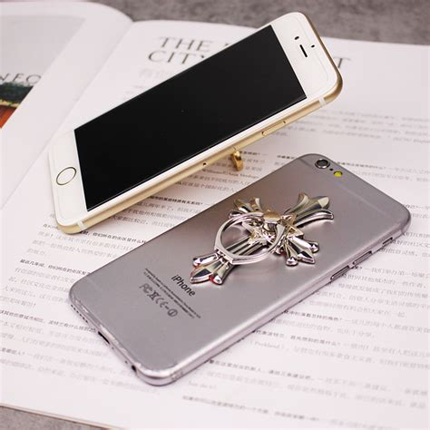 Softcase Ring Holder Clear Metal Mirror For Iphone 6 Plus metal cross finger ring pop mobile phone stand holder
